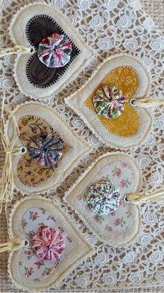 Fabric Flower Yoyo