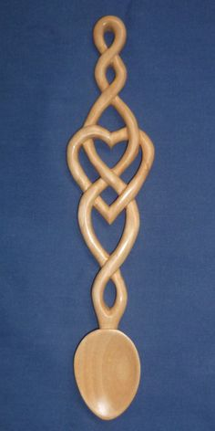 celtic wooden love spoons - Google Search