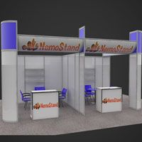 3D Design Concept For Octanorm Stand