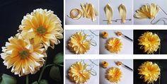 Fique na moda fazendo você mesmo uma flor com fita de cetim. Acompanhe o passo a passo em fotos.