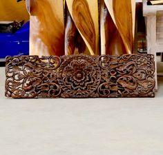 Панель ,резьба, тиковое дерево (Таиланд), арт. T7021 - Панно деревянные - купить в интернет-магазине в Москве и Санкт-Петербурге