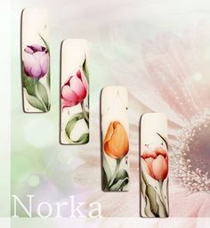 "#naildesign#nailart #floralnail N o r k a A n d r e a S z. (@norkanaildesign) on Instagram: ""Watercolour painting :)…"""