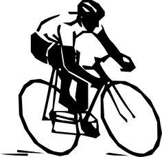 I could make a sign for the Tiger milk balls using this clip art - Steren Bike Rider Clip Art
