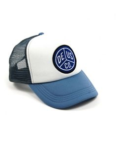 DEUS Trucker cap Kaplan - Blue-White