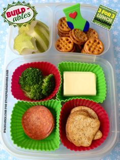 3 for 3 Lunch Challenge :: Lunchbox Ideas...diy lunchable