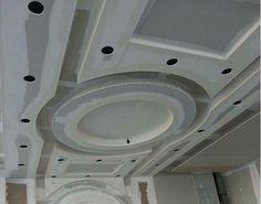 Alçıpan tavan uygulama Drawing Room Ceiling Design, Plaster Ceiling Design, Gypsum Ceiling Design, Interior Ceiling Design, House Ceiling Design, Ceiling Design Living Room, Bedroom False Ceiling Design, Roof Ceiling, Ceiling Plan