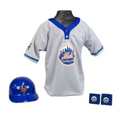 New York Mets MLB Youth Helmet and Jersey Set  http://www.sportstation.com/York-Mets-Youth-Helmet-Jersey/dp/B005OOFB9W