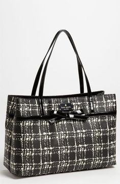 kate spade new york 'belleville plaid - helena' tote available at #Nordstrom