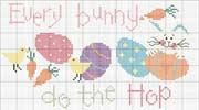 Schema punto croce Every Bunny