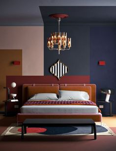 Editorial bedroom design