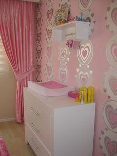 Behang meidenkamer bankstellen 2017 - Gordijn voor baby kamer ...