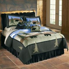 Cabela's Sportsman's Lodge Quilts at Cabela's - would actually match their decor currently