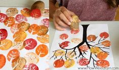 Fall Nail Designs - My Cool Nail Designs Fall Crafts For Kids, Diy Arts And Crafts, Diy For Kids, Autumn Activities, Activities For Kids, Dora, Fall Art Projects, Kids Art Class, Fall Nail Designs