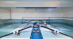 Vasca voga, per allenamento della tecnica. #vasca #voga #rowing #canottaggio #milan #milano #canottieriolona1894 #navigli #navigliogrande