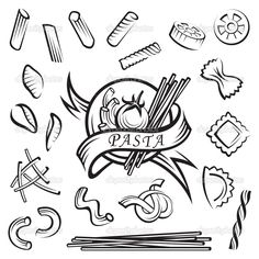pasta illustration - Google Search
