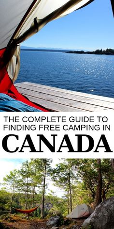 The Complete Guide to Finding Free Camping in Canada Whether you use a van, RV or tent, there are so many opportunities to find free camping in Canada. Discover our secrets of finding free camping options Camping Hacks, Camping Bedarf, Camping Essentials, Family Camping, Outdoor Camping, Outdoor Travel, Camping Ideas, Camping Guide, Camping Checklist