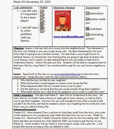 Mrs. Crabtree's Counseling Corner: Sample lesson Plan