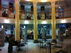 Kallion kirjasto Capital City, Helsinki, Libraries, The Good Place, Mansions, Architecture, House Styles, Home Decor, Finland