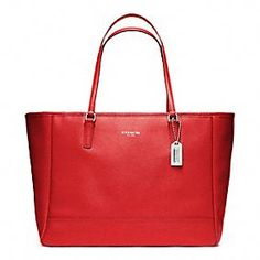 Great red Coach bag!