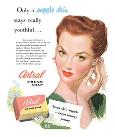 1951 Astral Soap ad