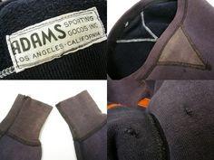 Adams Sporting Goods Brand Double V-Rib Sweatshirt, 1930's