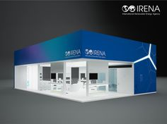 "Exhibition Stand for ""Irena"" designed by GM design group #exhibitionstands #exhibition #stand #booth #gmdesigngroup #gmdesign #gm #design"