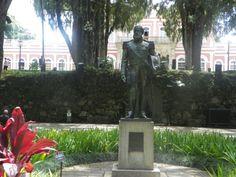 Estátua de Don pedro II-  Museu Imperial Petrópolis, RJ