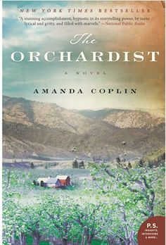 Our children's room assistant is reading The Orchardist by Amanda Coplin.