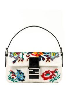 Baguette Large FENDI   #inthegarden #flowers #trend #woman à#apparel #accessories #style #fashion #spring #summer #collection #fendi