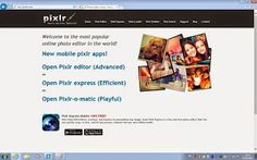 Photo Editing - Photo Editing Lessons - Pixlr Lessons - Pixlr Tutorial - Pixlr Blog: Tutorials Navigation