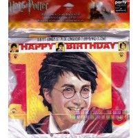 "Harry Potter ""Goblet of Fire"" Happy Birthday Banner  http://hardtofindpartysupplies.com/Harry-Potter-Birthday-Party-Supplies/Harry-Potter-Goblet-of-Fire-Happy-Birthday-Banner"