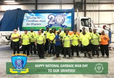 "All-Points Waste Service Honors Employees -   The Origins of Garbage Men and Women I'm guessing that not many of us have sat and pondered, ""I wonder how the career of being a garbage man came about"". However, it's an intriguing story and with now that National Garbage Man Appreciation Week 2017 is here, what better time to explore this top...   http://www.garbagemanday.org/all-points-waste-service-honors-employees/"