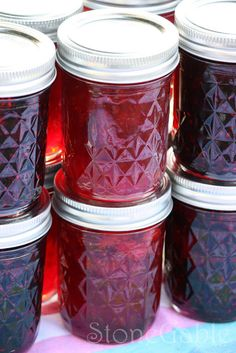 StoneGable: StoneGable Strawberry Jam (look forward to trying) Strawberry Preserves, Strawberry Jam, Strawberry Picking, Fruit Jam, Fresh Fruit, Blackberry, Sauces, Canned Food Storage, How To Make Jam