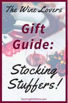 Are you looking for stocking stuffers to give the wine lover this holiday season? Then you have come to the right place! Check out this wine lovers gift guide that contains some must-buy wine-theme stocking stuffers! Gifts For Wine Lovers, Wine Gifts, Gift For Lover, Lovers Gift, Unique Gifts For Men, Creative Gifts, Diy Foto, Wine Decor, Growing Grapes