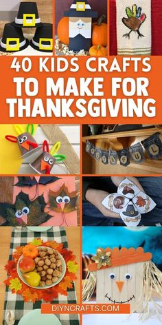 25 Fun And Creative Thanksgiving Crafts For Kids - Thanksgiving is such a wonderful time for crafts, particularly for your little ones. Do you remember making those adorable handprint turkeys in grade school? How about when your kiddos would bring home their Thanksgiving crafts and you would hang them on the fridge? #Thanksgiving #Crafts #EasyCrafts #KidsCrafts #ThanksgivingKidsCrafts Create And Craft, Crafts To Make, Easy Crafts, Kids Crafts, Turkey Handprint, Thanksgiving Crafts For Kids, Diy Craft Projects, Wonderful Time, Garland