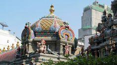 Sri Mariamman Hindu Temple in Bangkok