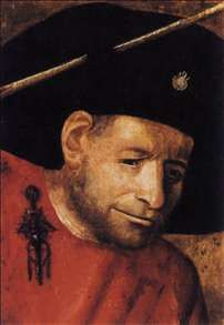 Head of a Halberdier (fragment)