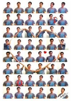 Montage of man using his hands and arms to form a heart Photography Classes, Creative Photography, Photography Tips, Mobile Photography, Cool Pictures, Cool Photos, Beautiful Pictures, Montage Photo, Diy Photo