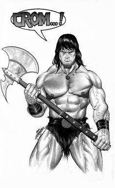 Conan The Barbarian by JacksonHerbert.deviantart.com on @deviantART
