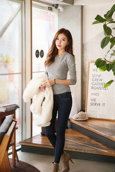 Soft Round Slim Top