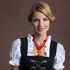 Perlenkette Lucy (rot)