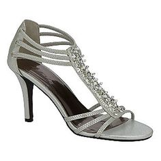 Women's Pearl Dress Shoe - Silver- Metaphor