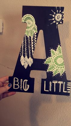 Boho sorority craft