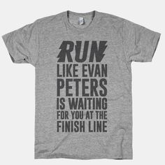 Run Like Evan Peters Is Waiting For You At The Finish Line | HUMAN