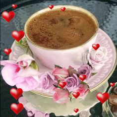Discover & share this Happy New Year GIF with everyone you know. GIPHY is how you search, share, discover, and create GIFs. Good Morning Happy Sunday, Good Morning Coffee, Good Morning Gif, Good Morning Flowers, Coffee Talk, Coffee Love, Coffee Break, Coffee Cups, Tea Cups