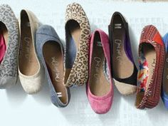 Toms shoes  $22  we like  them
