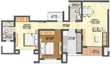 LODHA Aurum - Layout and Floor Plans of 2 and 3 BHK Flats/Homes