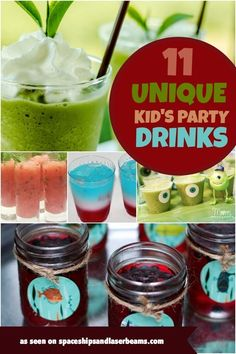 ... Drinks on Pinterest   Party Drinks, Party Punch Kids and Kid Drinks