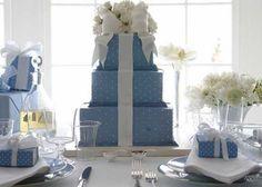 Decoração de Casamento em Azul - Blog Dani Vargas | Realize-se - O site do seu casamento