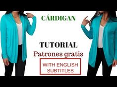 DIY Cómo hacer un cárdigan corte y confección/ HOW TO MAKE A CARDIGAN (CUT AND CONFECTION) - YouTube Old Sweater, Ugly Sweater Party, Ugliest Christmas Sweater Ever, Diy Ugly Christmas Sweater, Sewing Basics, Crochet Cardigan, Sewing Clothes, Sewing Patterns, Hacks